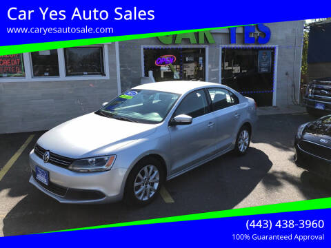 2014 Volkswagen Jetta for sale at Car Yes Auto Sales in Baltimore MD