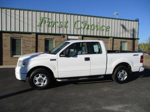 2006 Ford F-150 for sale at First Choice Auto in Greenville SC