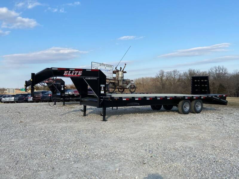 2021 Elite 25' Deck Over 14k GVWR for sale at Ken's Auto Sales & Repairs in New Bloomfield MO