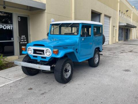1976 Toyota BJ 40 for sale at AUTOSPORT in Wellington FL