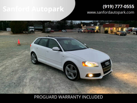 2013 Audi A3 for sale at Sanford Autopark in Sanford NC