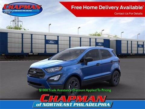 2021 Ford EcoSport for sale at CHAPMAN FORD NORTHEAST PHILADELPHIA in Philadelphia PA