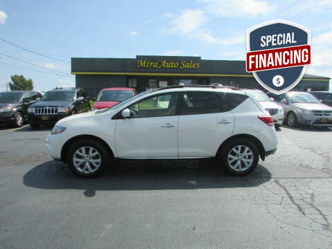 2012 Nissan Murano for sale at MIRA AUTO SALES in Cincinnati OH