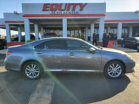 2012 Lexus ES 350 for sale at EQUITY AUTO CENTER in Phoenix AZ