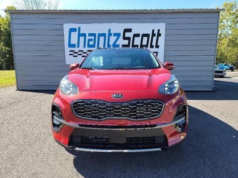 2022 Kia Sportage for sale at Chantz Scott Kia in Kingsport TN