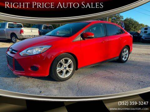 2014 Ford Focus for sale at Right Price Auto Sales in Waldo FL
