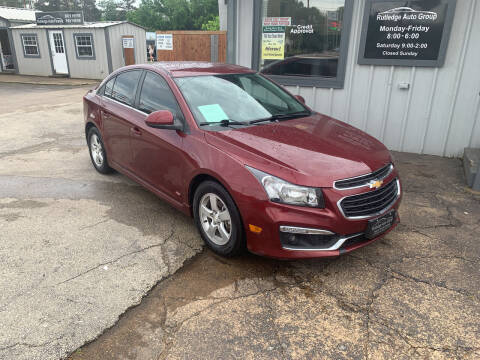 2016 Chevrolet Cruze Limited for sale at Rutledge Auto Group in Palestine TX