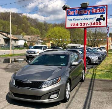 2015 Kia Optima for sale at Car Factory Outlet in Lower Burrell PA