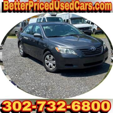 2007 Toyota Camry for sale at Better Priced Used Cars in Frankford DE
