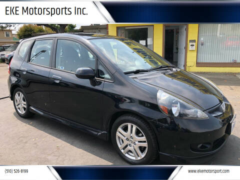 2008 Honda Fit for sale at EKE Motorsports Inc. in El Cerrito CA