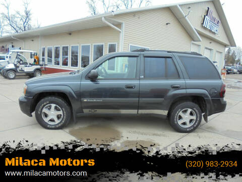 2004 Chevrolet TrailBlazer for sale at Milaca Motors in Milaca MN