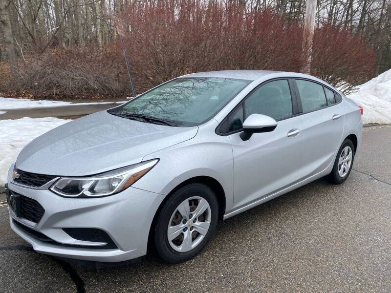 2017 Chevrolet Cruze for sale at Padula Auto Sales in Braintree MA