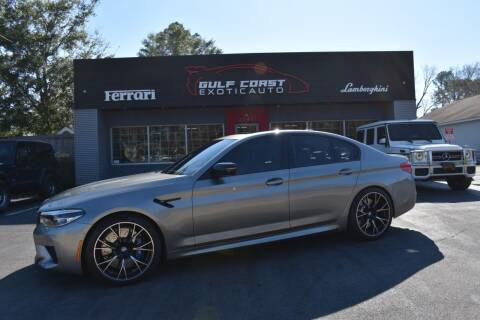 2020 BMW M5 for sale at Gulf Coast Exotic Auto in Biloxi MS