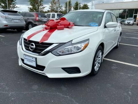 2017 Nissan Altima for sale at Charlotte Auto Group, Inc in Monroe NC