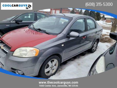2007 Chevrolet Aveo for sale at Cool Car Guys in Janesville WI