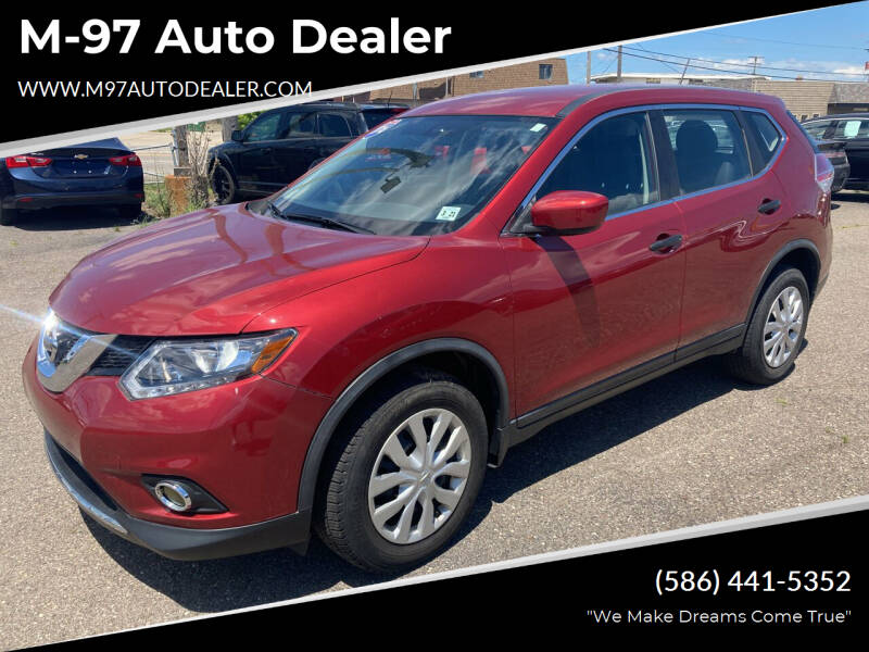 2016 Nissan Rogue for sale at M-97 Auto Dealer in Roseville MI