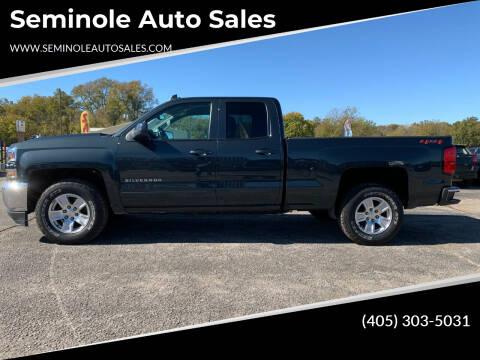 2019 Chevrolet Silverado 1500 LD for sale at Seminole Auto Sales in Seminole OK
