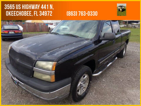 2004 Chevrolet Silverado 1500 for sale at M & M AUTO BROKERS INC in Okeechobee FL
