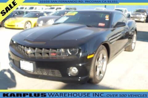 2013 Chevrolet Camaro for sale at Karplus Warehouse in Pacoima CA