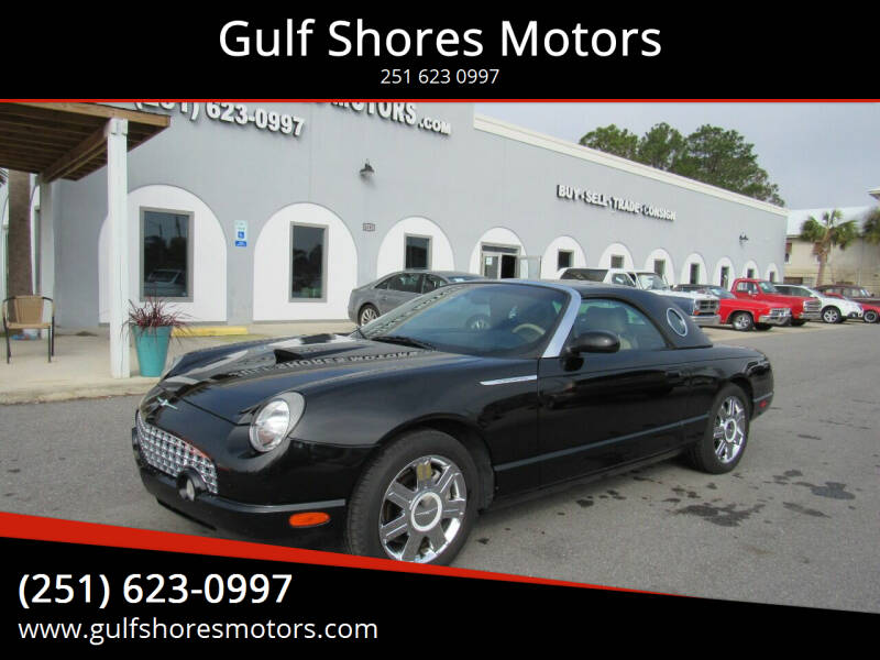 2005 Ford Thunderbird for sale at Gulf Shores Motors in Gulf Shores AL