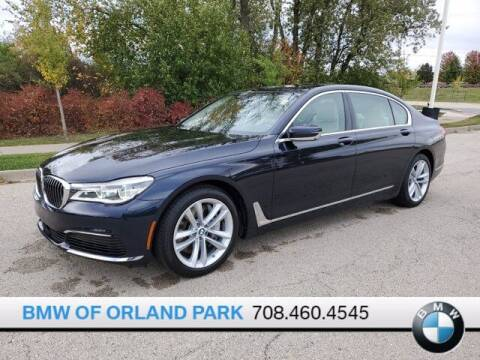 2019 BMW 7 Series for sale at BMW OF ORLAND PARK in Orland Park IL