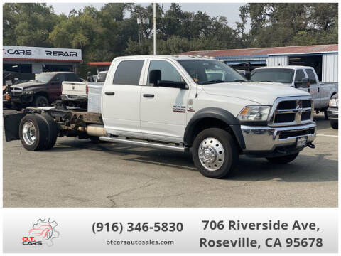 2016 RAM Ram Chassis 5500 for sale at OT CARS AUTO SALES in Roseville CA