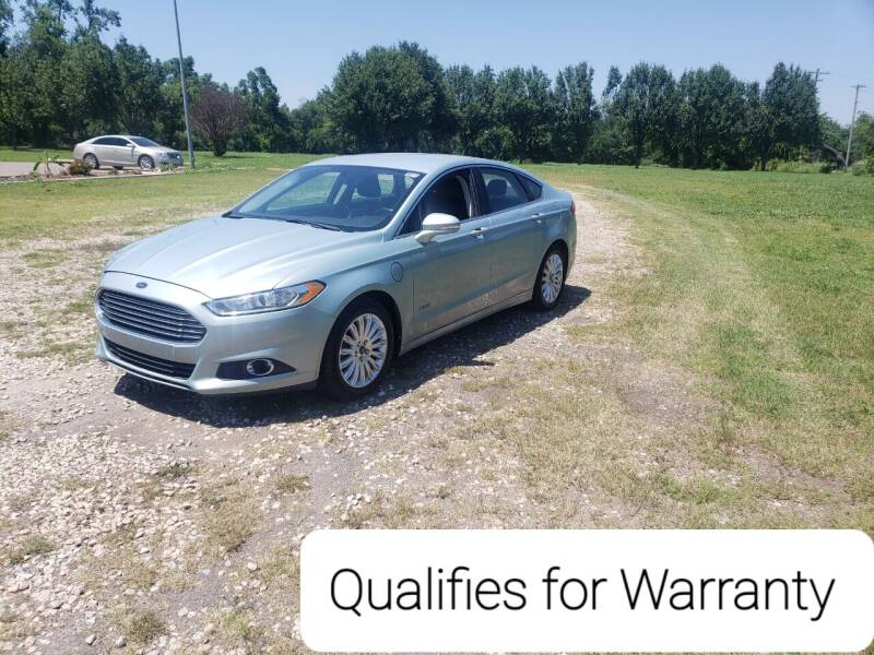 2013 Ford Fusion Energi for sale at NOTE CITY AUTO SALES in Oklahoma City OK