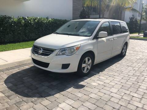 2010 Volkswagen Routan for sale at CARSTRADA in Hollywood FL