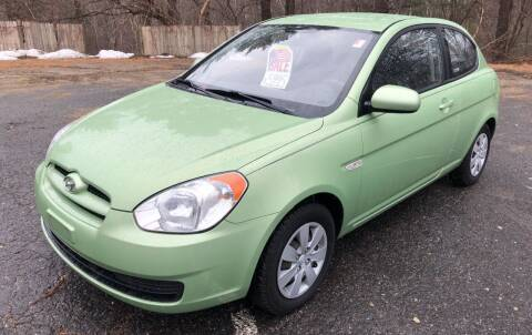 2010 Hyundai Accent for sale at Motuzas Automotive Inc. in Upton MA