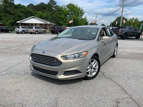 2015 Ford Fusion for sale at Trust Motor Company in Stockbridge GA