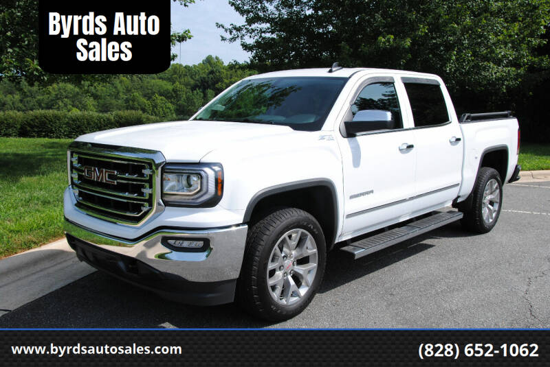 2018 GMC Sierra 1500 for sale at Byrds Auto Sales in Marion NC