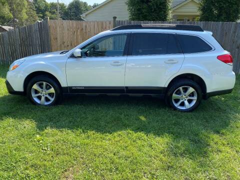 2013 Subaru Outback for sale at ALL Motor Cars LTD in Tillson NY