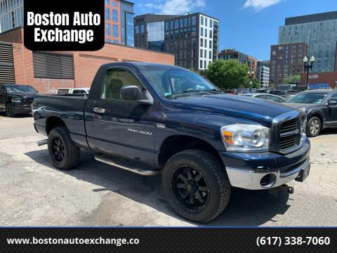 2007 Dodge Ram Pickup 1500 for sale at Boston Auto Exchange in Boston MA