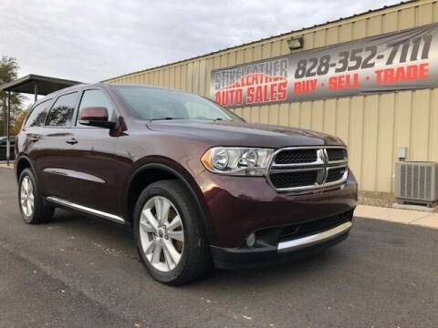 2012 Dodge Durango for sale at Stikeleather Auto Sales in Taylorsville NC