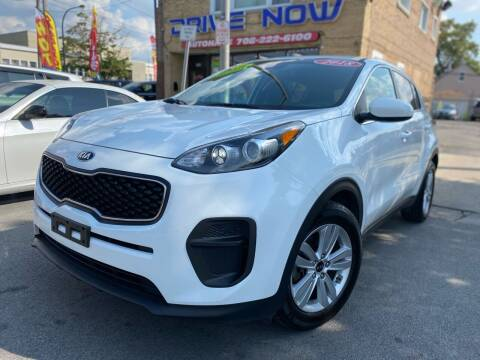 2018 Kia Sportage for sale at Drive Now Autohaus in Cicero IL