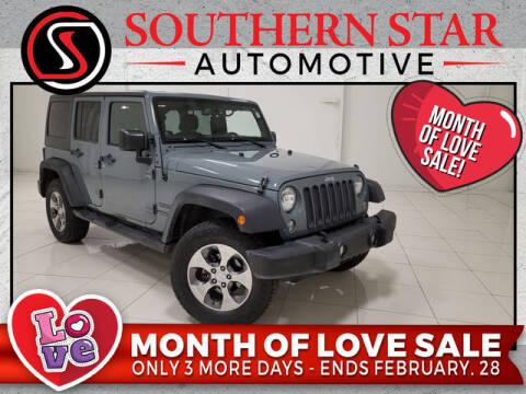 2014 Jeep Wrangler Unlimited for sale at Southern Star Automotive, Inc. in Duluth GA