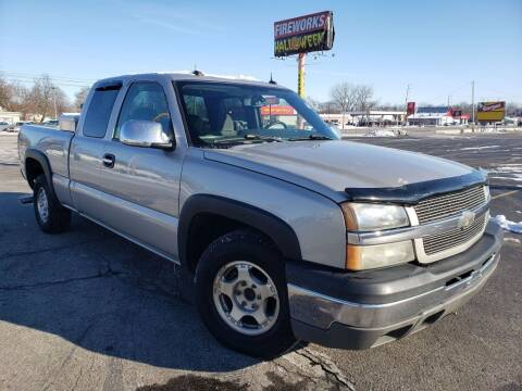 2004 Chevrolet Silverado 1500 for sale at speedy auto sales in Indianapolis IN