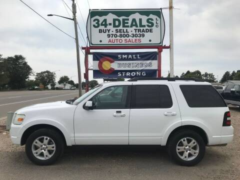 2010 Ford Explorer for sale at 34 Deals LLC in Loveland CO