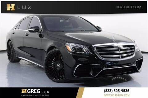 2020 Mercedes-Benz S-Class for sale at HGREG LUX EXCLUSIVE MOTORCARS in Pompano Beach FL