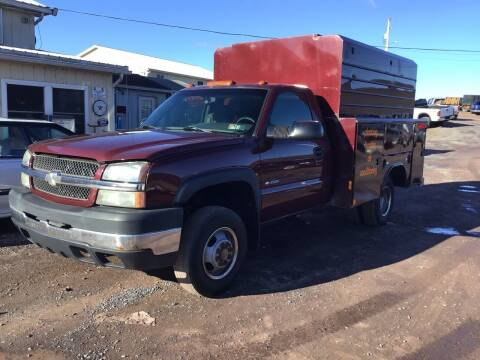 2003 Chevrolet Silverado 3500 for sale at Troys Auto Sales in Dornsife PA
