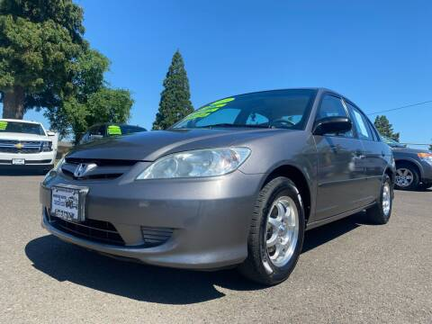 2005 Honda Civic for sale at Pacific Auto LLC in Woodburn OR