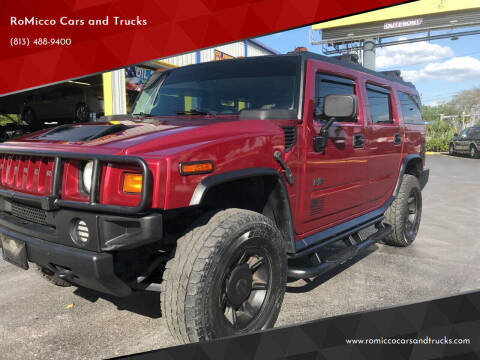 2004 HUMMER H2 for sale at RoMicco Cars and Trucks in Tampa FL