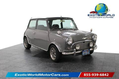 1994 Rover Mini Cooper S for sale at Exotic World Motor Cars in Addison TX