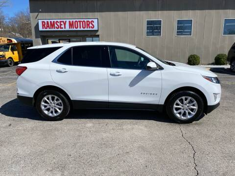 2018 Chevrolet Equinox for sale at Ramsey Motors in Riverside MO