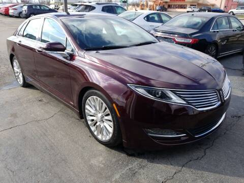 2013 Lincoln MKZ for sale at Martins Auto Sales in Shelbyville KY