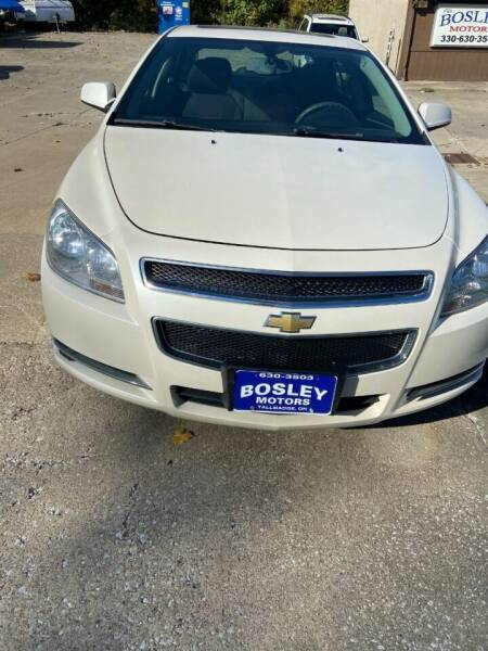 2011 Chevrolet Malibu for sale at BOSLEY MOTORS INC in Tallmadge OH