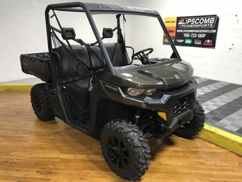 2020 Can-Am Defender DPS™ HD8 Boreal for sale at Lipscomb Powersports in Wichita Falls TX