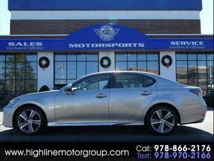 2016 Lexus GS 350 for sale at Highline Group Motorsports in Lowell MA