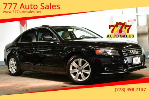 2011 Audi A4 for sale at 777 Auto Sales in Bedford Park IL