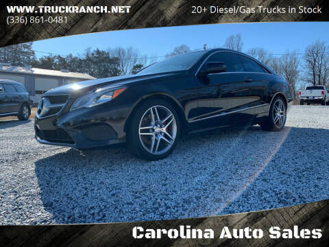 2014 Mercedes-Benz E-Class for sale at Carolina Auto Sales in Trinity NC